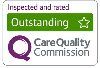 CQC Outstanding - Inspected and rated